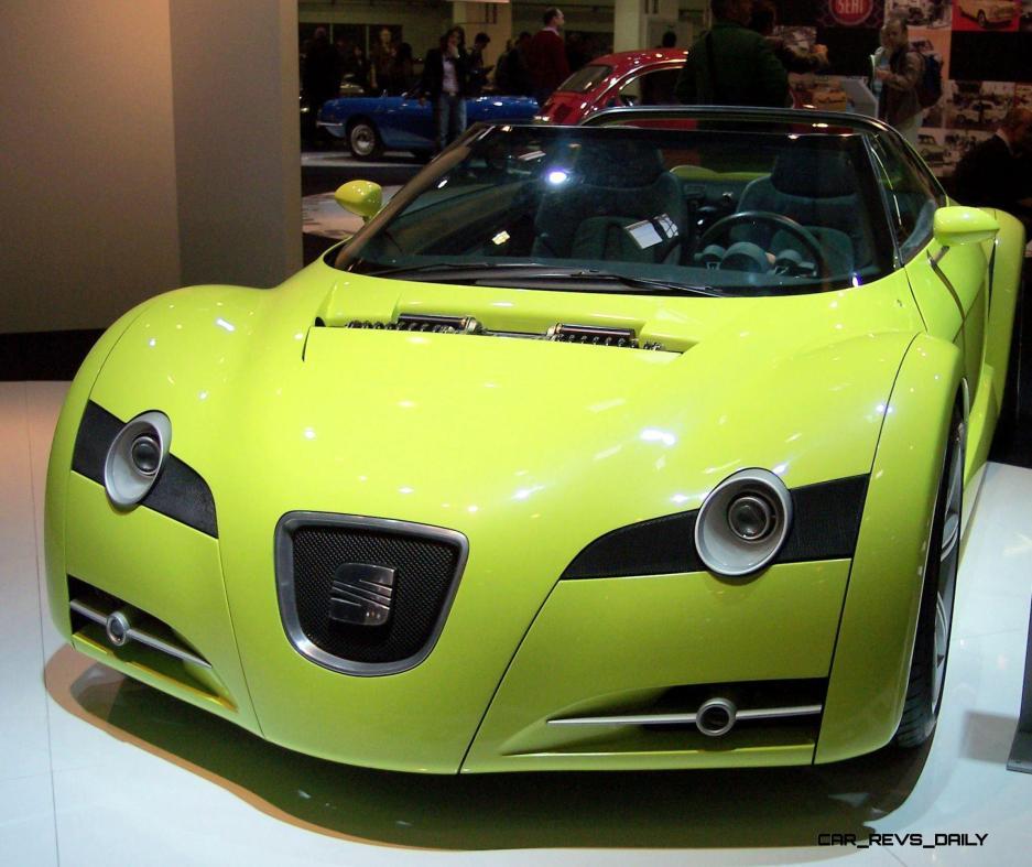 Concept Flashback - 1999 SEAT Formula Roadster 13
