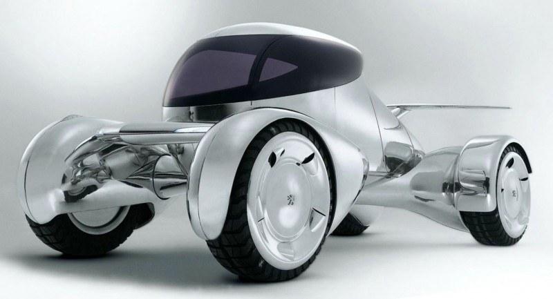 Concept Flashback - 2001 Peugeot Moonster Is Nuclear Fuel-Cell Lunar Lander 4