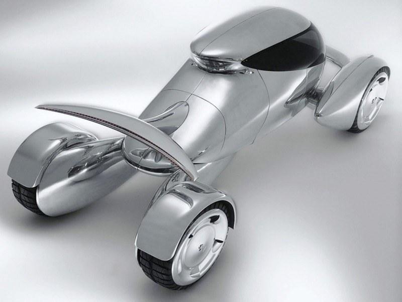 Concept Flashback - 2001 Peugeot Moonster Is Nuclear Fuel-Cell Lunar Lander 6