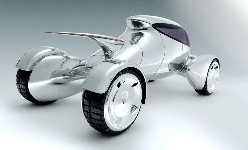 Concept Flashback - 2001 Peugeot Moonster Is Nuclear Fuel-Cell Lunar Lander 8