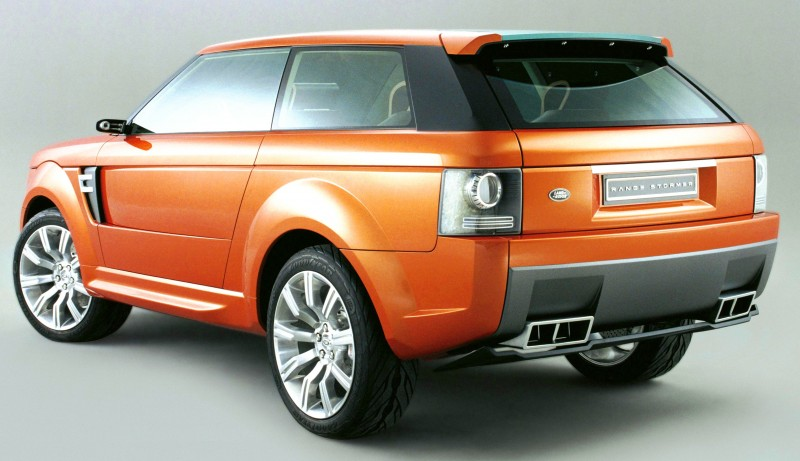 Concept Flashback - 2004 RANGE STORMER Previews High-Design SUV Supercars 19
