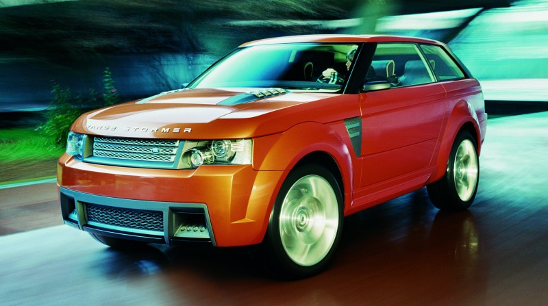 Concept Flashback - 2004 RANGE STORMER Previews High-Design SUV Supercars 21