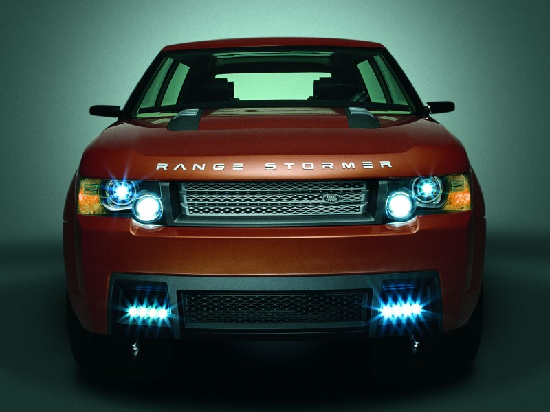 Concept Flashback - 2004 RANGE STORMER Previews High-Design SUV Supercars 4