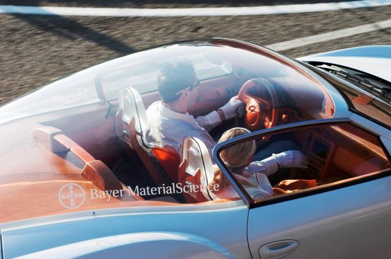 Concept Flashback - 2006 RINSPEED ZaZen is Porsche 911 with Clear Bubble Hardtop 24