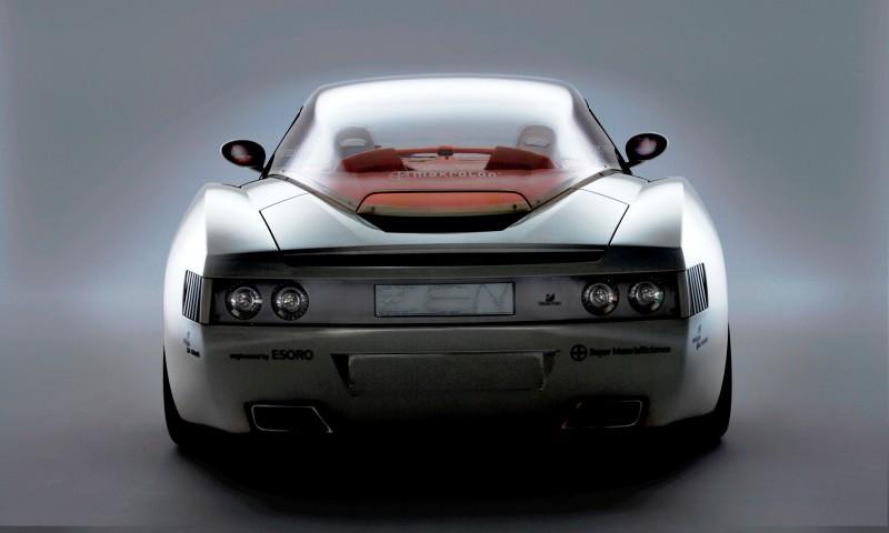 Concept Flashback - 2006 RINSPEED ZaZen is Porsche 911 with Clear Bubble Hardtop 39