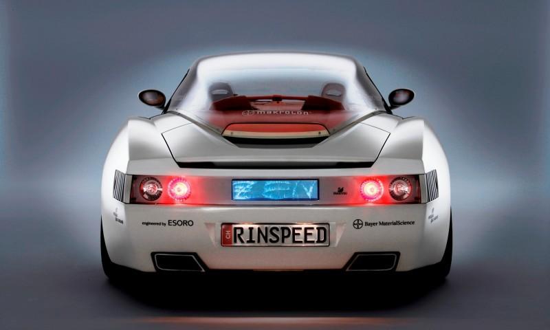 Concept Flashback - 2006 RINSPEED ZaZen is Porsche 911 with Clear Bubble Hardtop 41