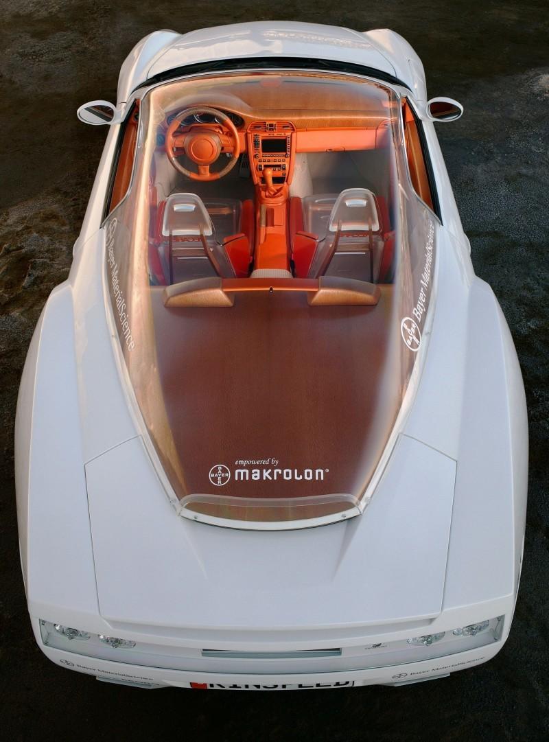 Concept Flashback - 2006 RINSPEED ZaZen is Porsche 911 with Clear Bubble Hardtop 46