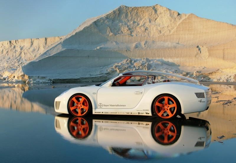 Concept Flashback - 2006 RINSPEED ZaZen is Porsche 911 with Clear Bubble Hardtop 49