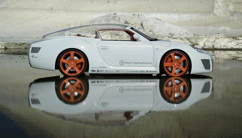 Concept Flashback - 2006 RINSPEED ZaZen is Porsche 911 with Clear Bubble Hardtop 50