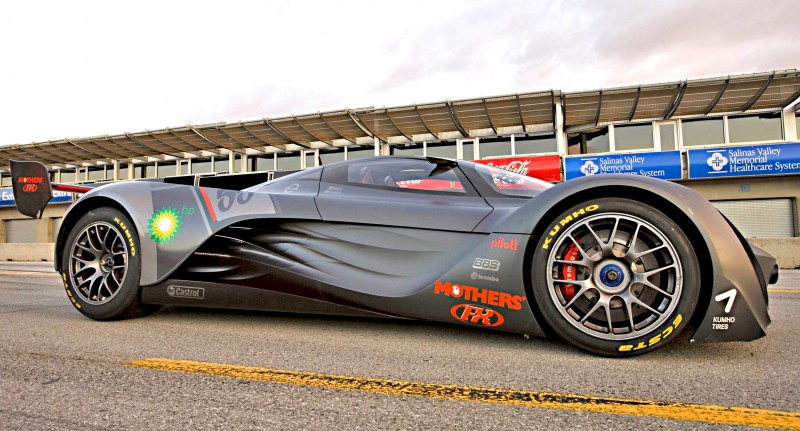 Concept Flashback - 2008 Mazda Furai is 450HP Rotary LMP2 Car That Met Two Tragic Ends 11