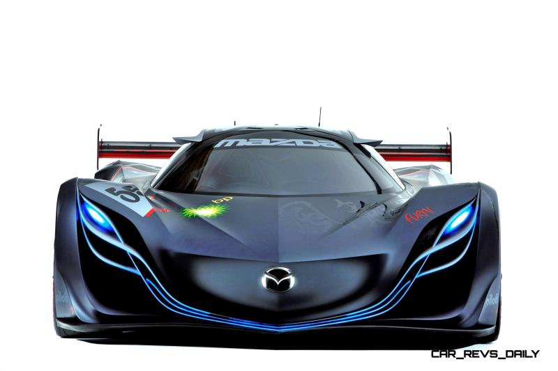 Concept Flashback - 2008 Mazda Furai is 450HP Rotary LMP2 Car That Met Two Tragic Ends 22
