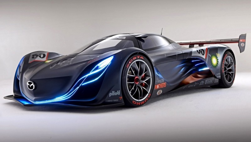 Concept Flashback - 2008 Mazda Furai is 450HP Rotary LMP2 Car That Met Two Tragic Ends 26