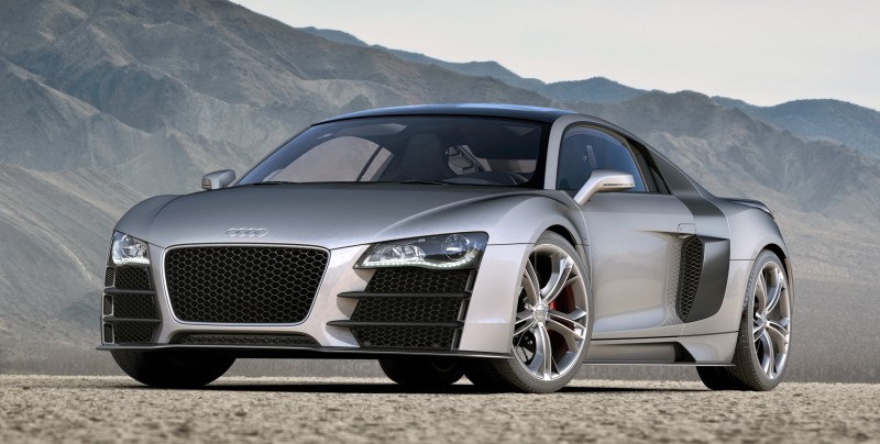 Concept Flashback - 2009 Audi R8 TDI V12 Shows Great Engineering Potential, But Limited Market 18