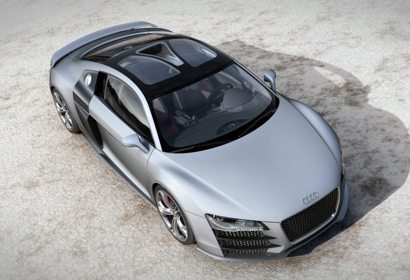 Concept Flashback - 2009 Audi R8 TDI V12 Shows Great Engineering Potential, But Limited Market 19