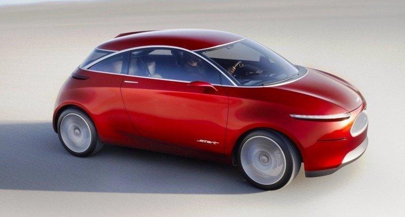 Concept Flashback - 2010 Ford Start - Supermini Previews Potential 2017 Ka 2