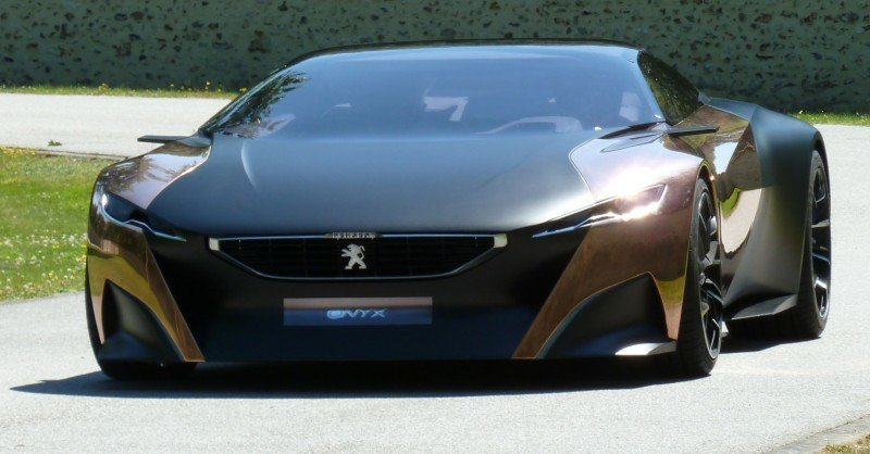 Concept Flashback - 2012 Peugeot ONYX Is Mixed-Media Hypercar Delight 3