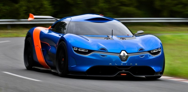 Concept Flashback - 2012 Renault Alpine A110-50 A Blend of M64 and A110 Berlinette 34