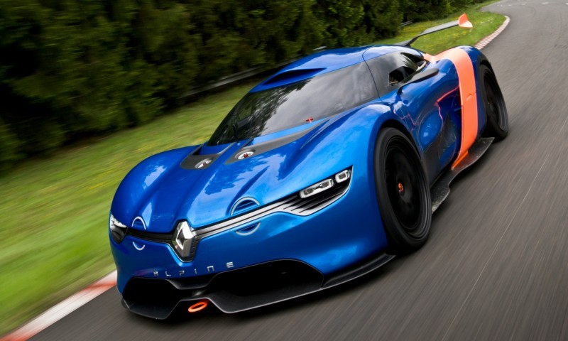 Concept Flashback - 2012 Renault Alpine A110-50 A Blend of M64 and A110 Berlinette 53