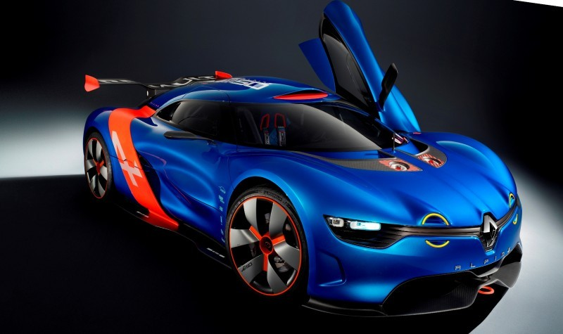 Concept Flashback - 2012 Renault Alpine A110-50 A Blend of M64 and A110 Berlinette 60