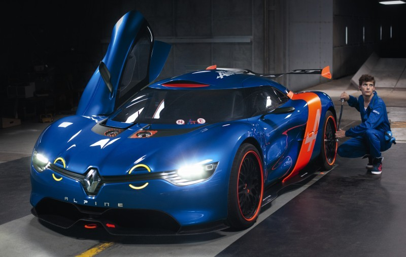 Concept Flashback - 2012 Renault Alpine A110-50 A Blend of M64 and A110 Berlinette 76