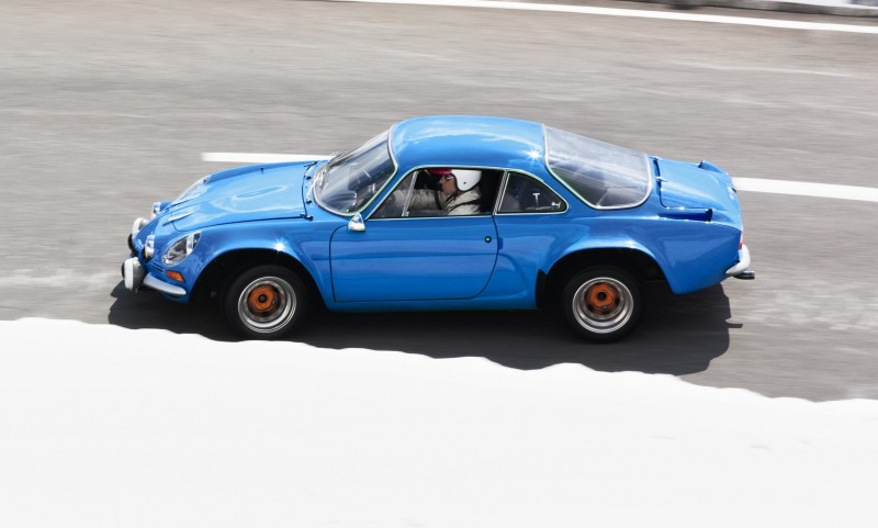 Concept Flashback - 2012 Renault Alpine A110-50 A Blend of M64 and A110 Berlinette 89
