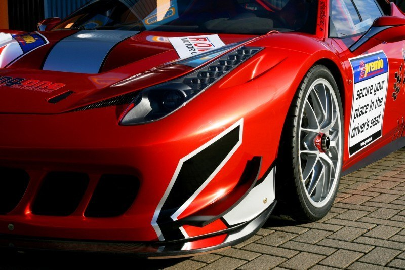 Ferrari 458 Competition by RacingOne Is Hardcore GT3 Track Attacker 19