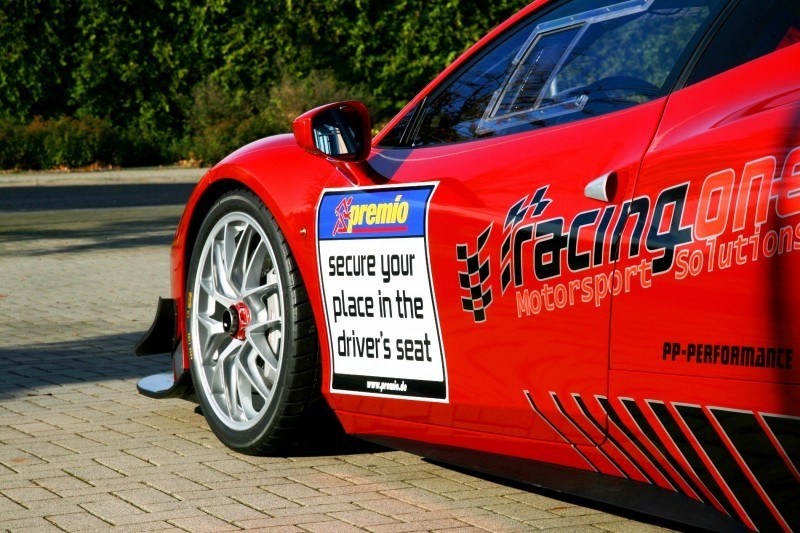 Ferrari 458 Competition by RacingOne Is Hardcore GT3 Track Attacker 21
