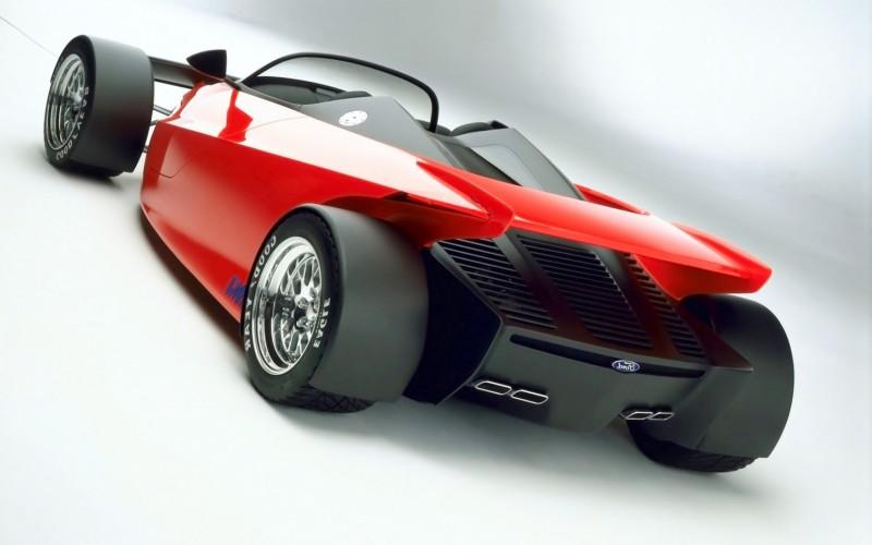 Ford Vision Gran Turismo Seems to Recall the 1996 INDIGO Open-Wheel Supercar Concept 1