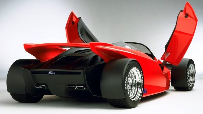 Ford Vision Gran Turismo Seems to Recall the 1996 INDIGO Open-Wheel Supercar Concept 6