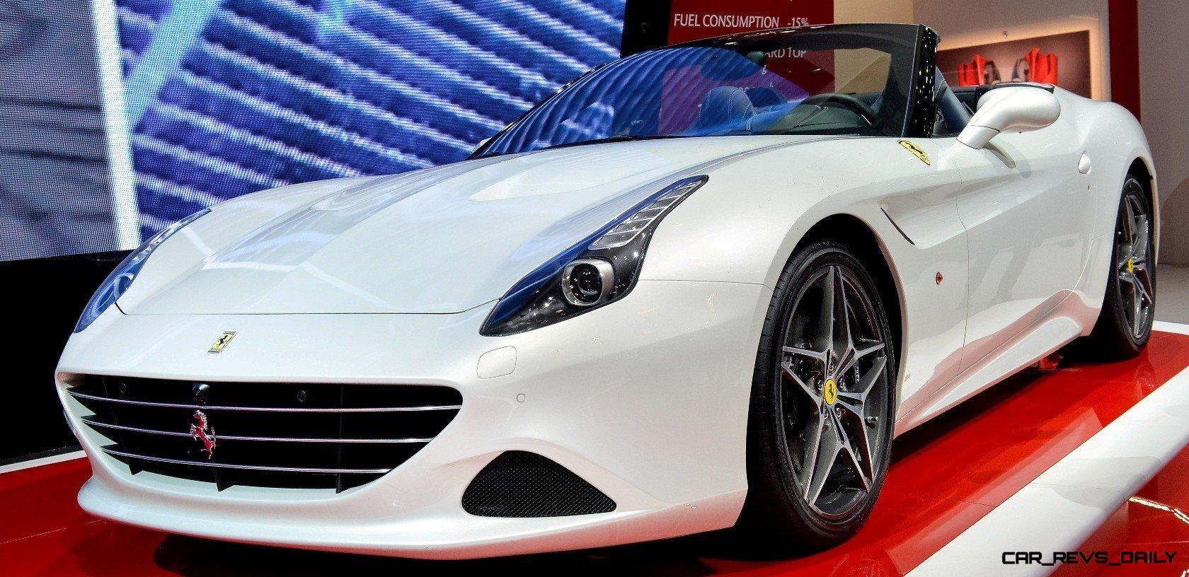 Ferrari Goes Turbo 2015 California T Cabrio Packing 577lb Ft Of