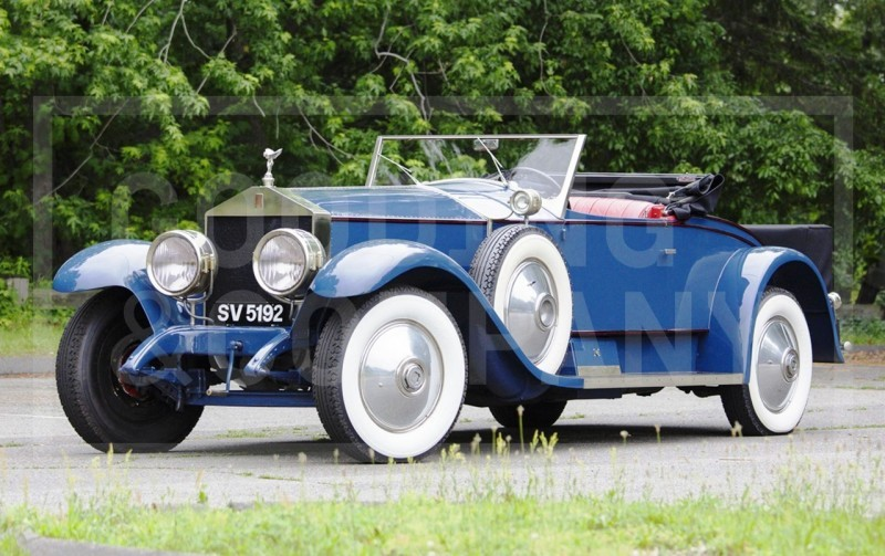 Gooding Pebble Beach 2014 Highlights - 1926 Rolls-Royce Silver Ghost Playboy Roadster 1