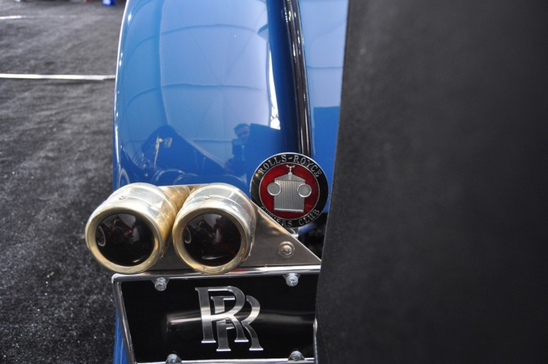 Gooding Pebble Beach 2014 Highlights - 1926 Rolls-Royce Silver Ghost Playboy Roadster 23