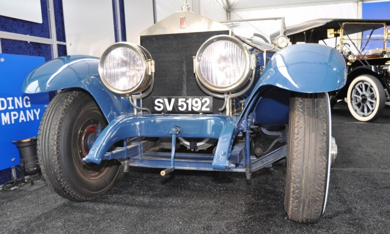 Gooding Pebble Beach 2014 Highlights - 1926 Rolls-Royce Silver Ghost Playboy Roadster 27