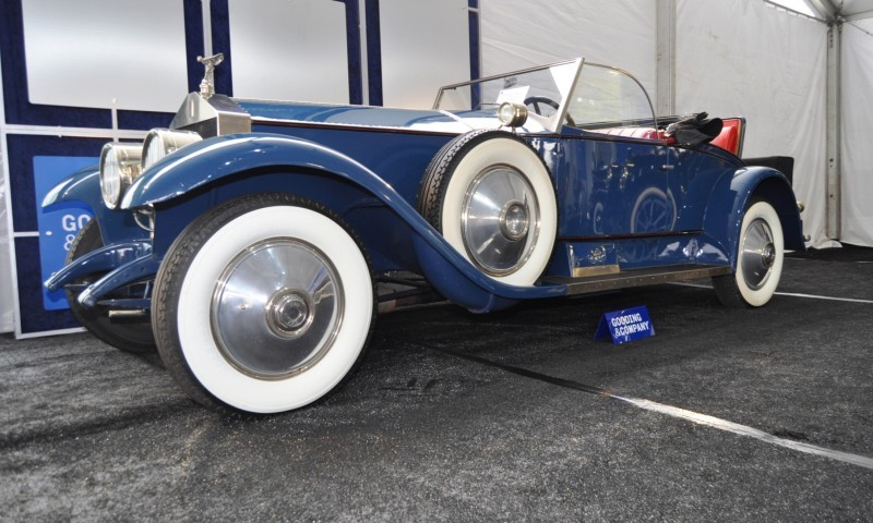 Gooding Pebble Beach 2014 Highlights - 1926 Rolls-Royce Silver Ghost Playboy Roadster 29