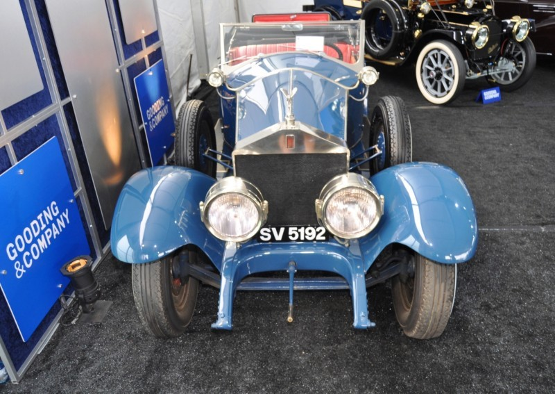 Gooding Pebble Beach 2014 Highlights - 1926 Rolls-Royce Silver Ghost Playboy Roadster 33