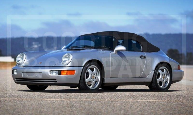 Gooding Pebble Beach 2014 Preview - 1994 Porsche 911 Carrera 3.6 Speedster 2