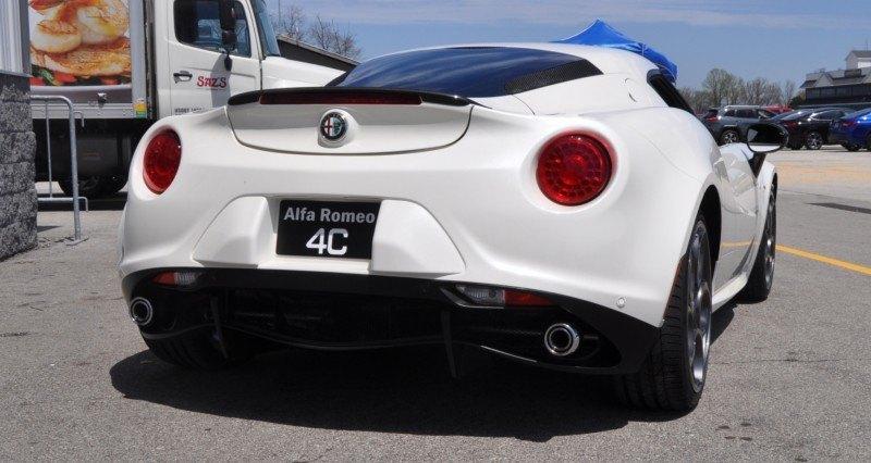 Gorgeous 2015 Alfa-Romeo 4C Revealed in Full USA Trim + New Headlights! 25