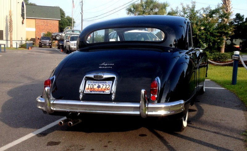 Iconic Classic - 1959 JAGUAR Mark IX Is Blue-Blood Royalty With Most Divine Cabin of the 1950s 9