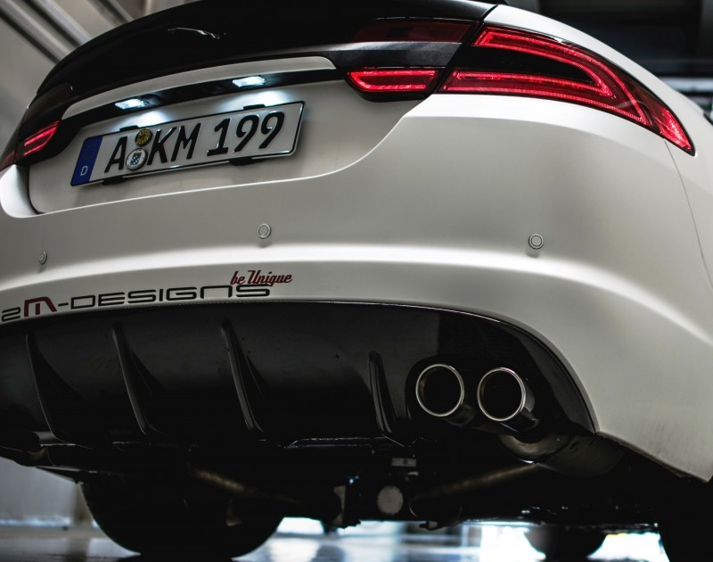 JAGUAR XF by 2M Designs Shows How To Personalize a Jag With Class 13