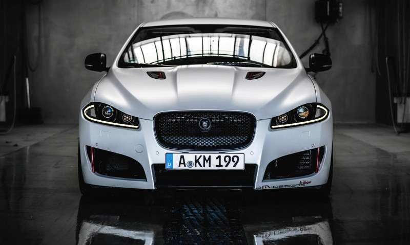 JAGUAR XF by 2M Designs Shows How To Personalize a Jag With Class 15