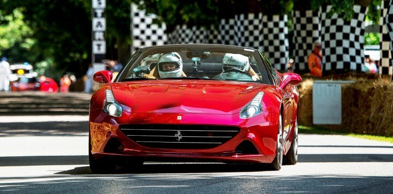 Jay Kay's Green LaFerrari and F12 TRS Spyder Cause Deadly Fanboy Riots at 2014 Goodwood FoS10