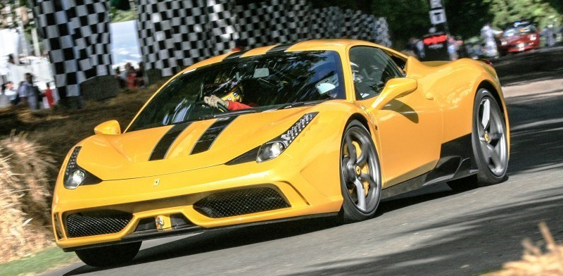 Jay Kay's Green LaFerrari and F12 TRS Spyder Cause Deadly Fanboy Riots at 2014 Goodwood FoS12