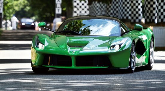 Jay Kay's Green LaFerrari and F12 TRS Spyder Cause Deadly Fanboy Riots at 2014 Goodwood FoS2