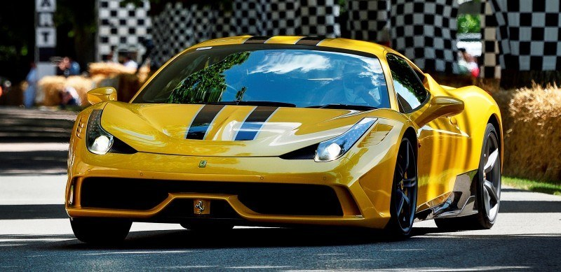 Jay Kay's Green LaFerrari and F12 TRS Spyder Cause Deadly Fanboy Riots at 2014 Goodwood FoS4
