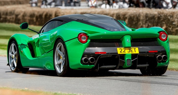 Jay Kay's Green LaFerrari and F12 TRS Spyder Cause Deadly Fanboy Riots at 2014 Goodwood FoS6