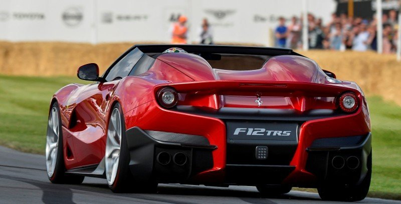 Jay Kay's Green LaFerrari and F12 TRS Spyder Cause Deadly Fanboy Riots at 2014 Goodwood FoS7