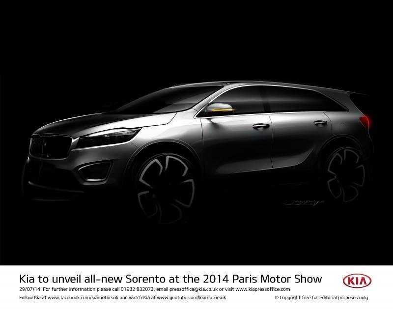 Kia to unveil all-new Sorento at the 2014 Paris Motor Show-57227