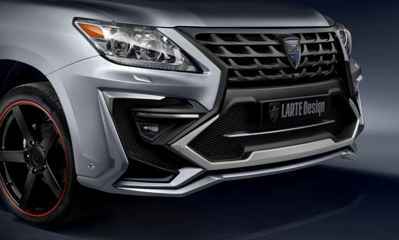 LARTE Design Creates Killer Alligator Upgrade for Lexus LX570 7