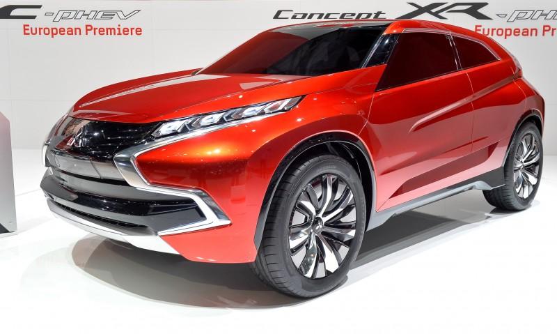 Latest Mitsubishi Exterior Designs Are Bizarre and Alarming 8