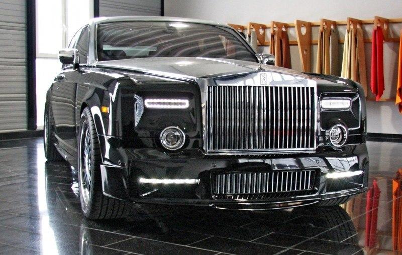 MANSORY Rolls-Royce Phantom Limo and Phantom Drophead Coupe Are 7.5L, V12TT Purebreds 1